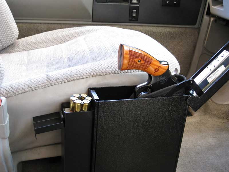 why should you keep gun safes in your car ?