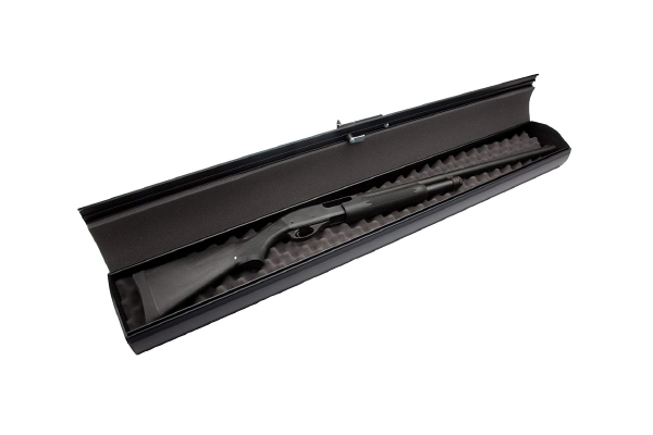Gun Casket Fast Opening Shotgun Safe (Electronic - Black)