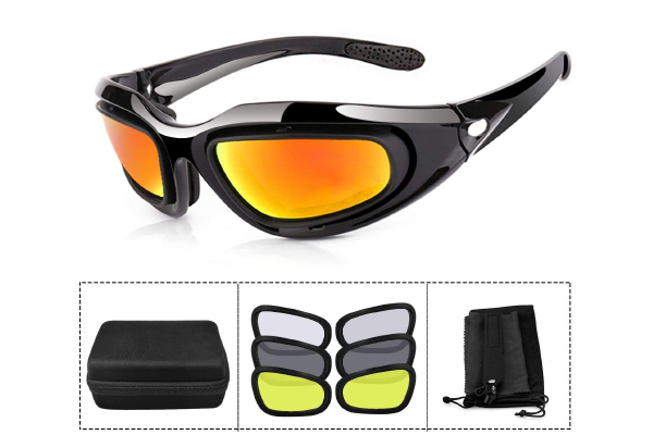 ActionEliters Tactical Eyewear Eyeshield Polarized