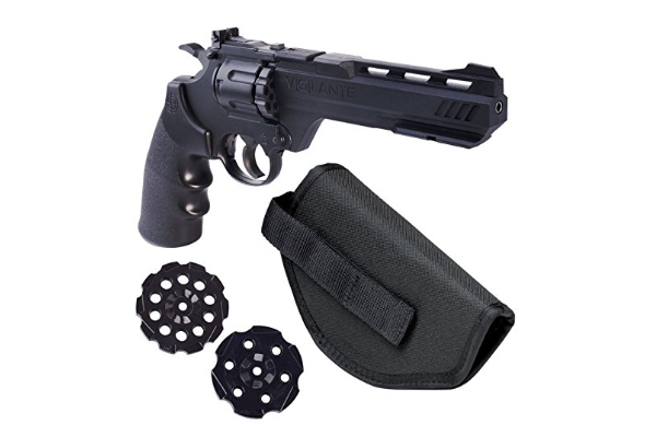 Crosman Vigilante 357 Co2 Air Pistol Kit with Holster and 3-Pack of Magazines Review