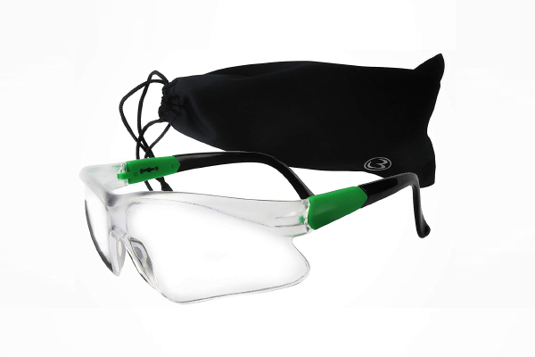 MAGNUS Safety Glasses/Goggles with Clear Anti-Fog