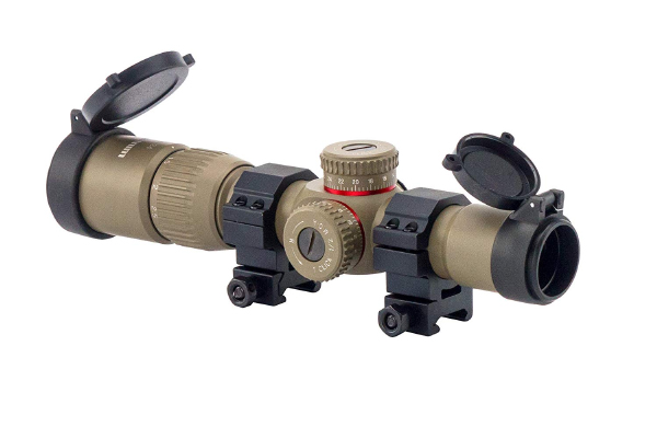 Monstrum Tactical 1-4*24 First Focal Plane Review