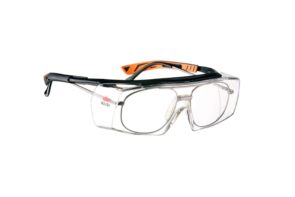 NoCry Over-Spec Safety Glasses with Anti Scratch Wrap-Around Lenses