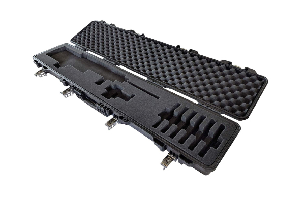 Waterproof hard-shell tactical rifle shotgun case review