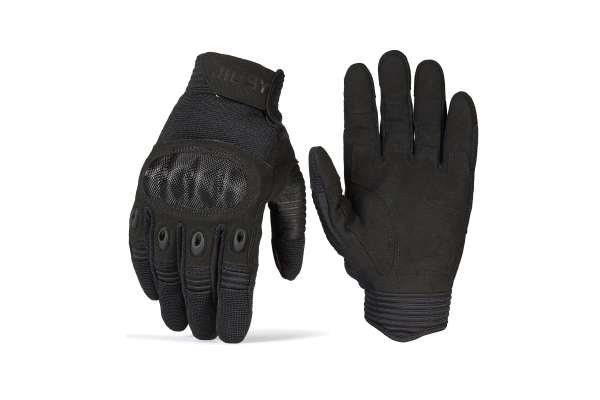 JIUSY Tactical Military Hard Knuckle Full Finger Gloves Review