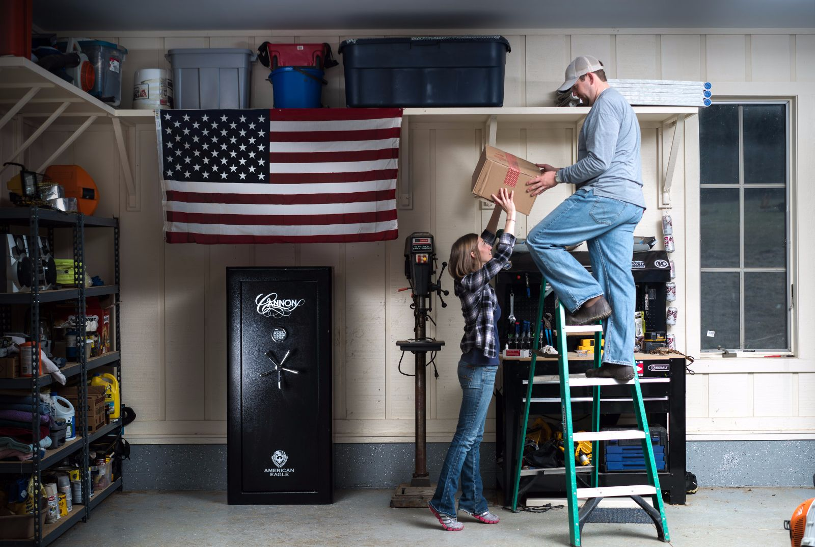 Where to keep gun safe the safest?
