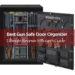 Best Gun safe door organizer