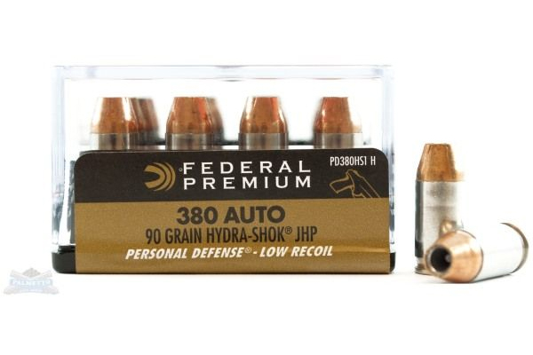 Federal Hydra-Shok Handgun 380 ammo