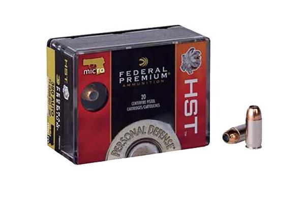Federal Personal Defense 380 HST Handgun Ammunition