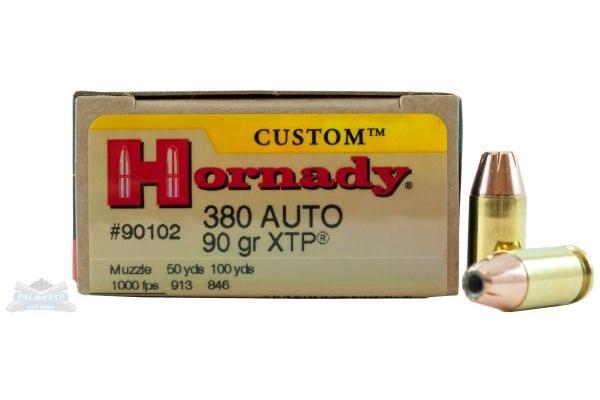 Hornady Custom 380 ACP Handgun Ammunition