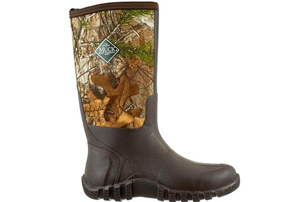 Muck Boots Men's Waterproof Fieldblazer Realtree Xtra Rubber Hunting Boots