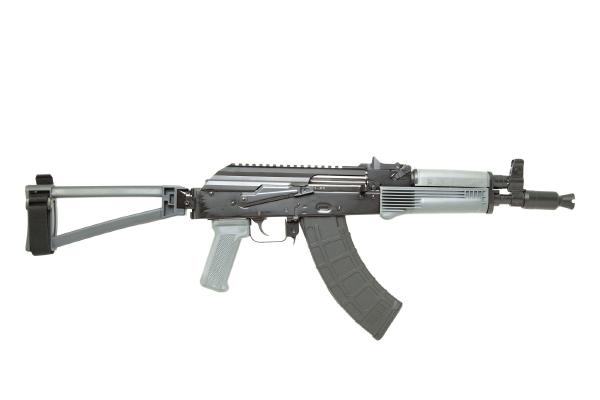 PSA AK-P GF3 CLASSIC TRIANGLE SIDE FOLDING PISTOL, GRAY