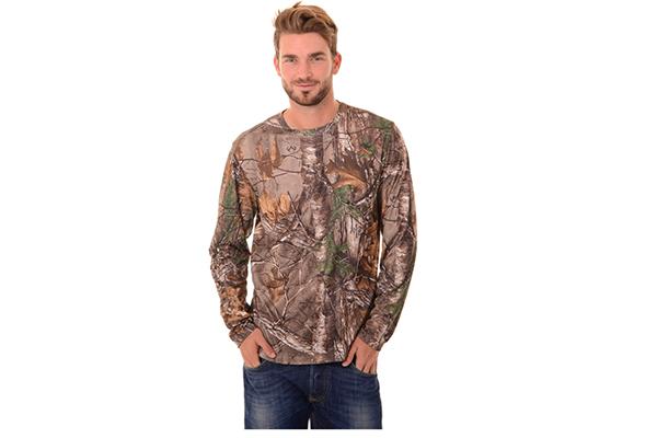 Realtree Men's Long Sleeve Performance T-Shirt