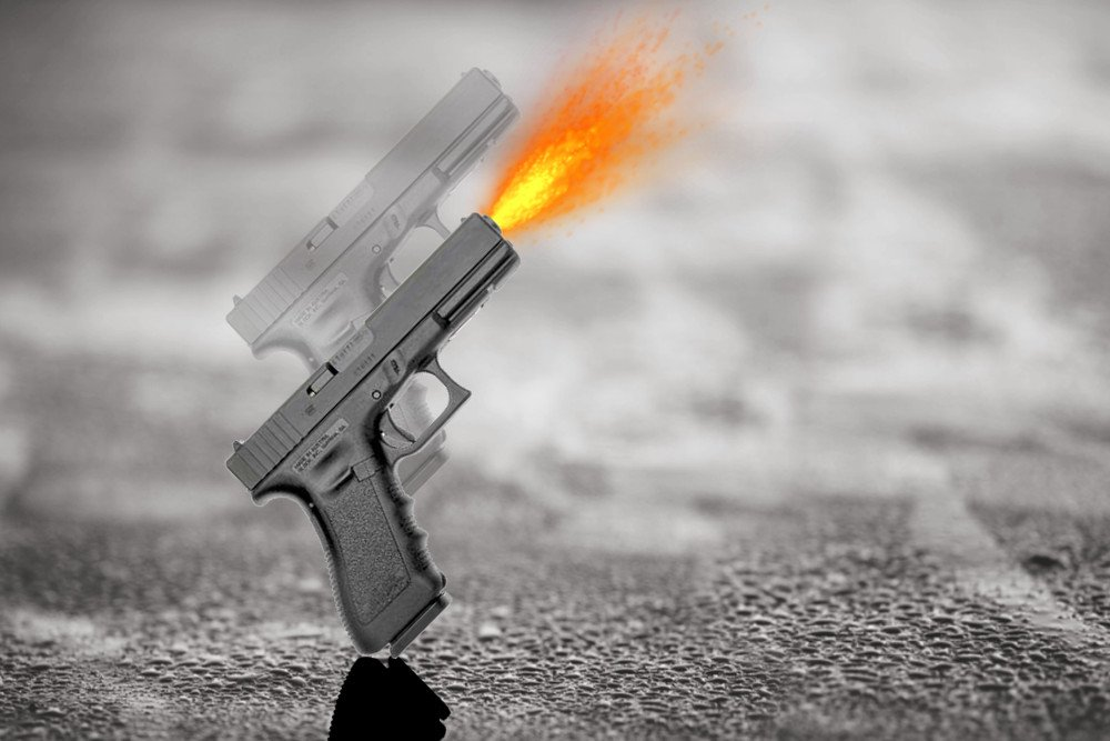 accidental discharge of bullets