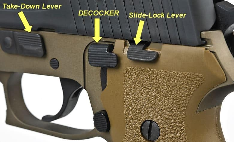 External safety in some guns