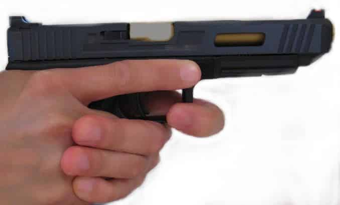 Keeping your finger on the trigger