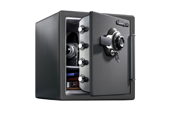 SentrySafe 1.23 Cubic foot Fireproof and Waterproof Safe