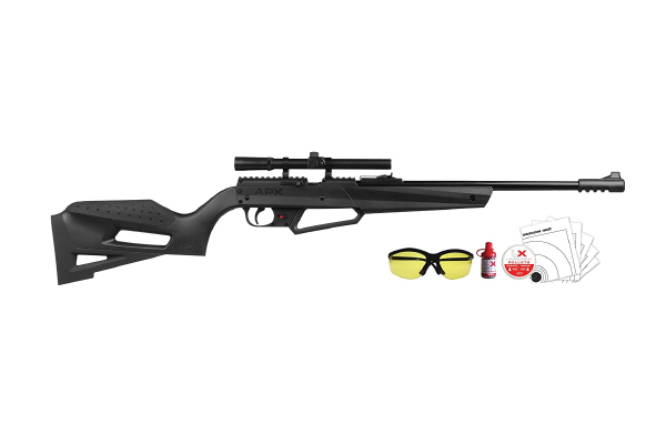 Umarex NXG APX Multi-Pump Pneumatic Youth .177 Caliber Pellet or BB Gun Air Rifle - Includes 4x15mm Scope