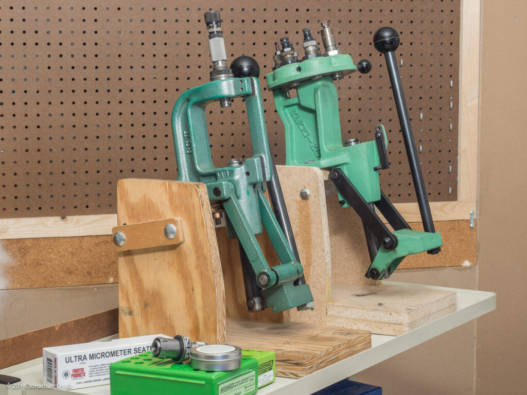 reloading press stand