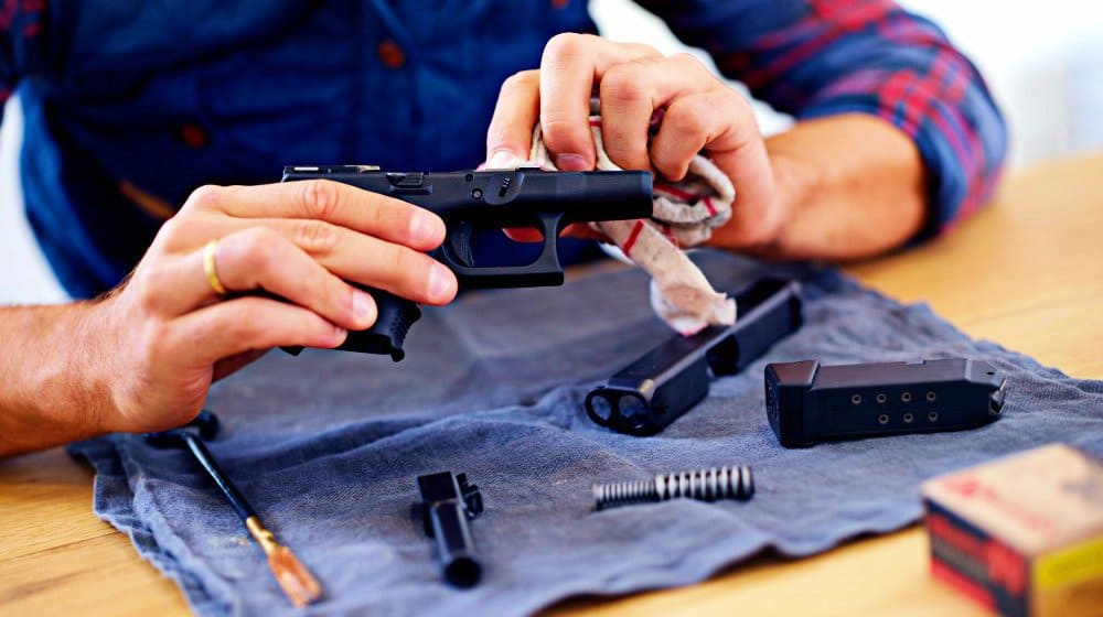 Clean and maintain the parts of your gun