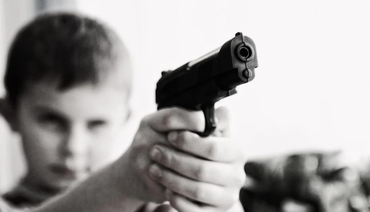 Keeps The Gun Out Of Your Children's Reach