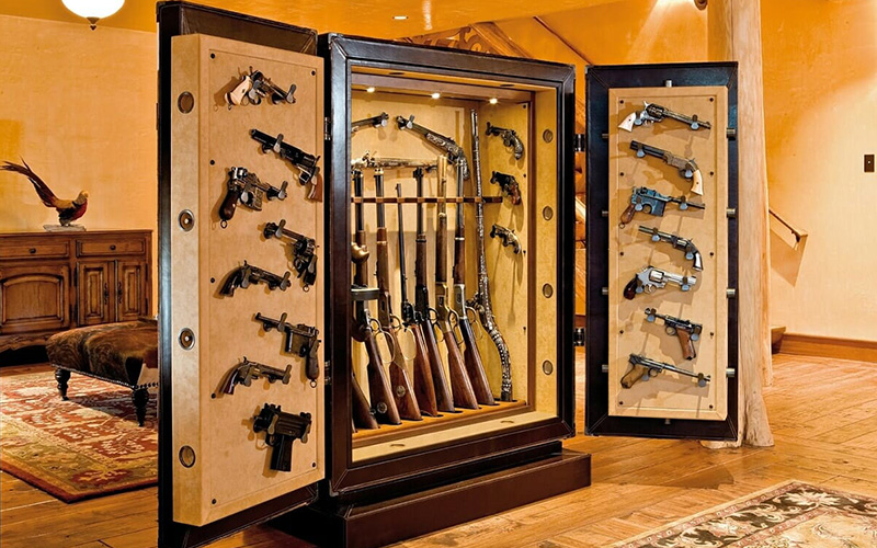 How to manage the weapons security room